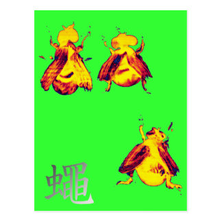Cool Insect Postcard