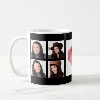 Cool Instagram Photo Collage with Feature Pic Coffee Mug