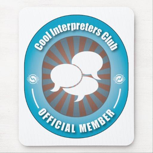 Cool Interpreters Club Mouse Pad