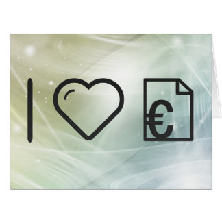 Cool Invoice Large Greeting Card