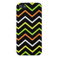 Cool iPhone 5 Cases for Girls Neon Chevron Stripes