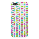 Cool iPhone 5 Cases for Girls Neon Polka Dots
