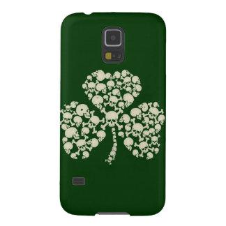 Cool Irish Skulls Shamrock Galaxy S5 Cases