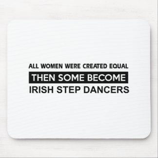 Cool Irish Step Dancing designs Mouse Pad