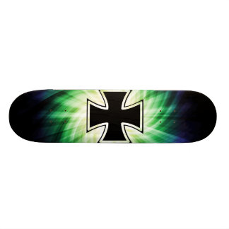 Cool Iron Cross Custom Skateboard