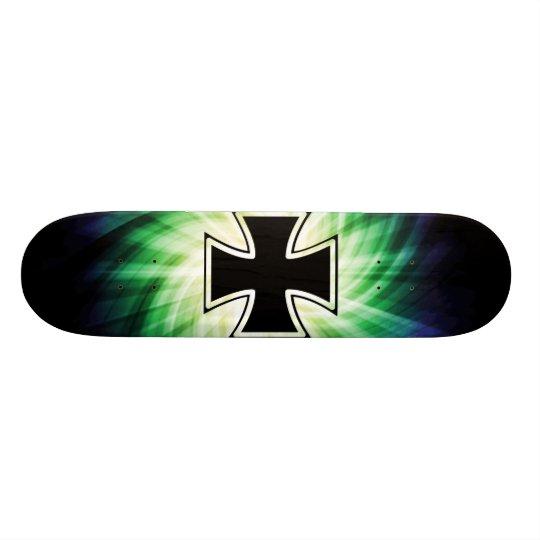 Cool Iron Cross Skateboard