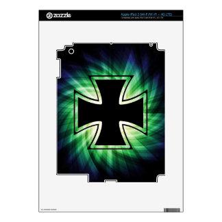 Cool Iron Cross Skin For iPad 3