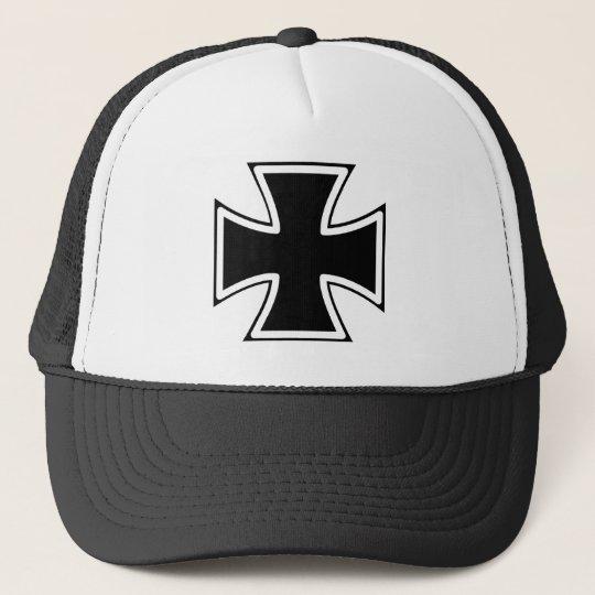 Cool Iron Cross Trucker Hat