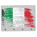 Cool Italian flag design Dry Erase Whiteboard
