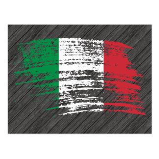 Cool Italian flag design Postcard