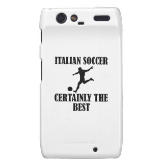 cool Italian soccer designs Motorola Droid RAZR Covers