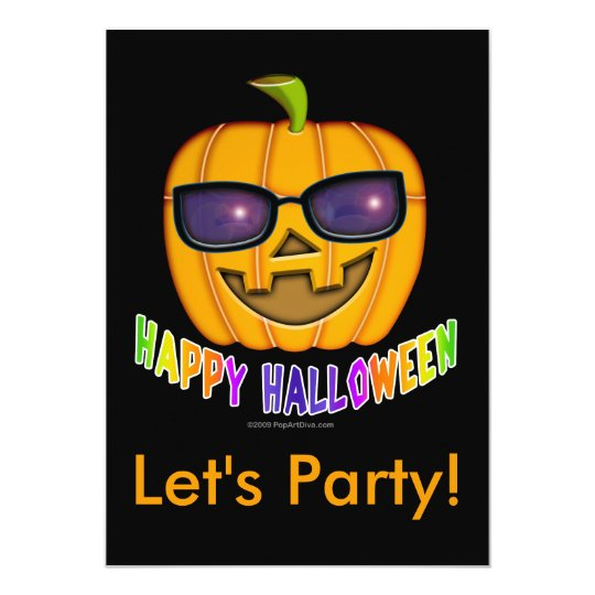Cool JACK O'Lantern 3032, Let's Party! Card