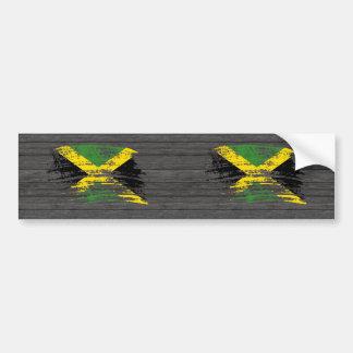 Cool Jamaican flag design Bumper Sticker