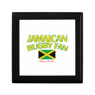 cool Jamaican rugby fan DESIGNS Jewelry Box