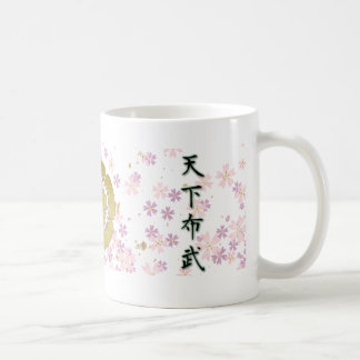 COOL JAPAN SAMURAI KAMON KANJI TENKAFUBU! MUGS