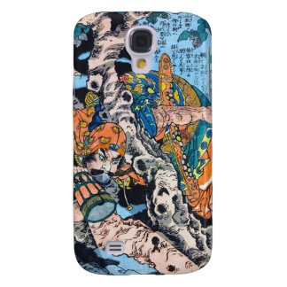 Cool japanese Ancient Legendary Hero Warrior art Galaxy S4 Cover