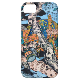 Cool japanese Ancient Legendary Hero Warrior art iPhone SE/5/5s Case