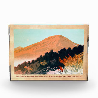Cool japanese autumn fall mountain Fuji scenery Award