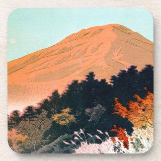 Cool japanese autumn fall mountain Fuji scenery Coaster