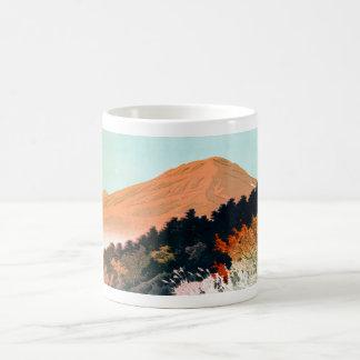 Cool japanese autumn fall mountain Fuji scenery Coffee Mug