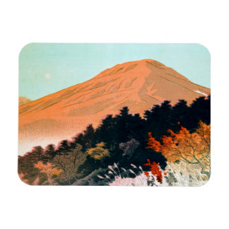 Cool japanese autumn fall mountain Fuji scenery Magnet