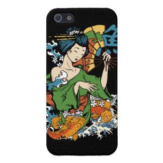 Cool Japanese Geisha iPhone Case