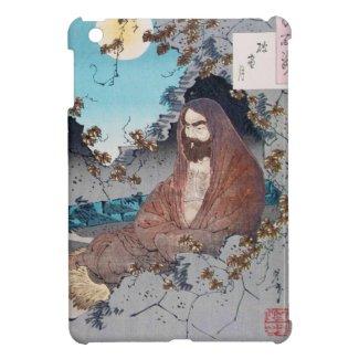 Cool japanese legendary hero sage master sensei iPad mini cover