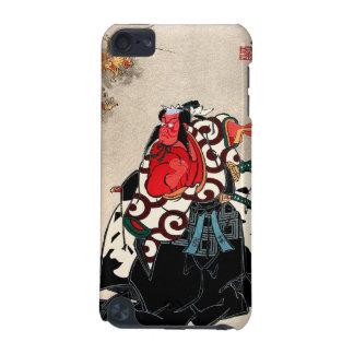 Cool japanese legendary hero warrior samurai art iPod touch (5th generation) case