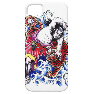 Cool japanese legendary hero warrior tiger fight iPhone 5 covers