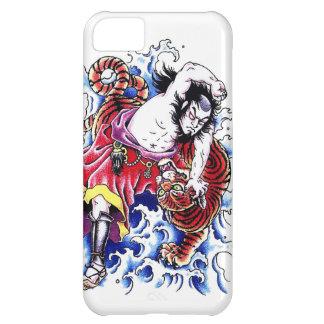 Cool japanese legendary hero warrior tiger fight iPhone 5C case