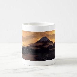 Cool japanese mountain Fuji sunshine scenery Coffee Mug