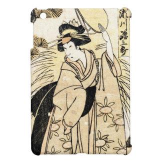 Cool japanese old vintage ukiy-o geisha tattoo iPad mini cover