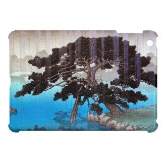Cool japanese Onshi Park Hasui Kawase rain lake Case For The iPad Mini
