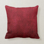Cool japanese oriental cherry red fish scale throw pillow