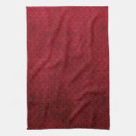Cool japanese oriental cherry red fish scale towel