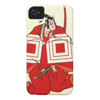 Cool japanese Shibaraku legendary samurai warrior Case-Mate iPhone 4 Cases