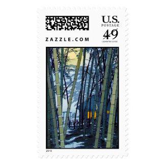 Cool japanese Shiro Kasamatsu Bamboo Early Summer Stamps