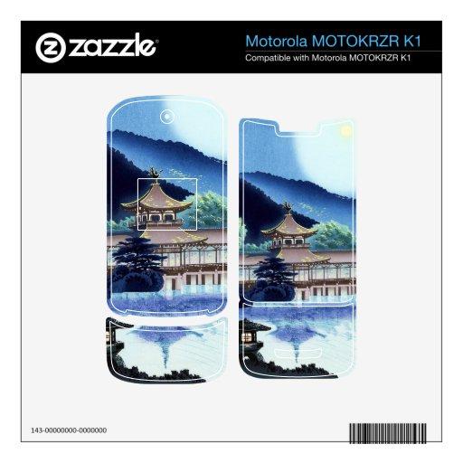 Cool japanese Tokuriki Heian  Shrine  in  Kyoto Motorola MOTOKRZR K1 Skin
