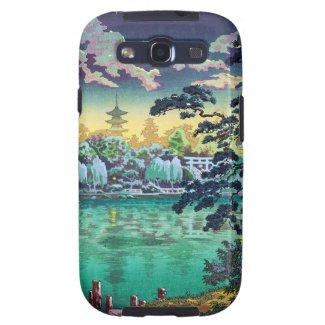 Cool japanese Ueno Shinobazu Pond Tsuchiya Koitsu Samsung Galaxy SIII Cases