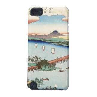 Cool japanese vintage ukiyo-e scenery waterscape iPod touch 5G cover