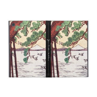 Cool japanese vintage ukiyo-e sea tree birds scene case for iPad mini