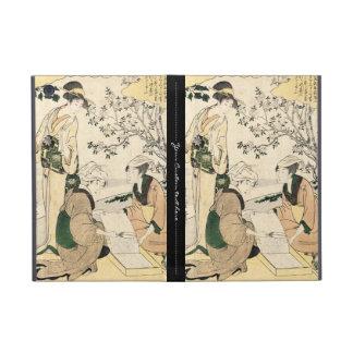 Cool japanese vintage ukiyo-e three ladies geisha cover for iPad mini