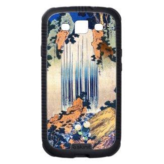 Cool japanese vintage ukiyo-e waterfall Hokusai Samsung Galaxy S3 Cases