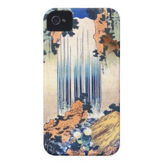 Cool japanese vintage ukiyo-e waterfall Hokusai iPhone 4 Case-Mate Case