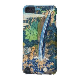Cool japanese vintage ukiyo-e waterfall Hokusai iPod Touch (5th Generation) Case