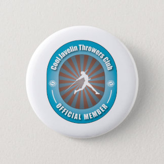Cool Javelin Throwers Club Pinback Button
