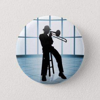 Cool Jazz 1 Pinback Button
