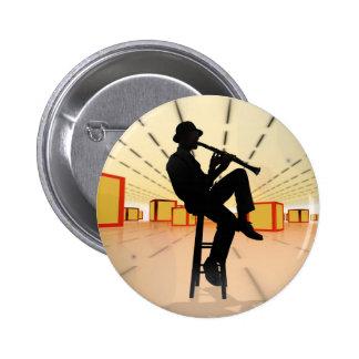 Cool Jazz 3 Pinback Button