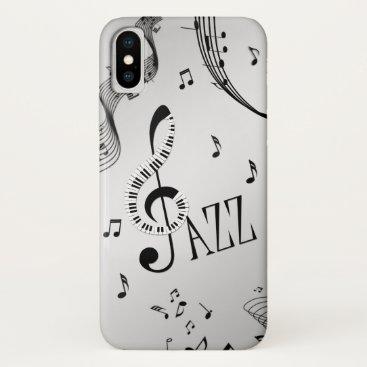Cool Jazz iPhone X Case