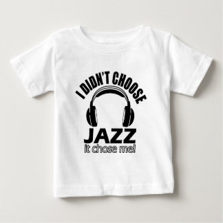 Cool jazz designs baby T-Shirt